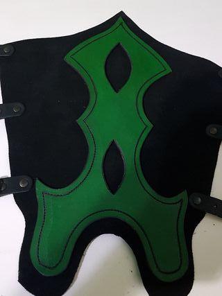 Grebas assasins Creed verde cosplay medieval