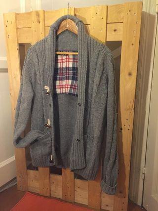 Chaqueta de lana gris Talla M