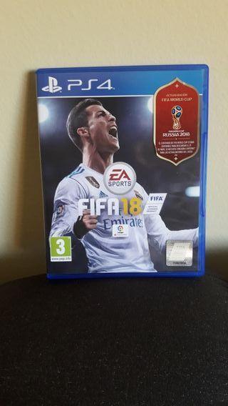 FIFA 18 +MUNDIAL PS4