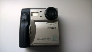 camara canon poweer shot 350