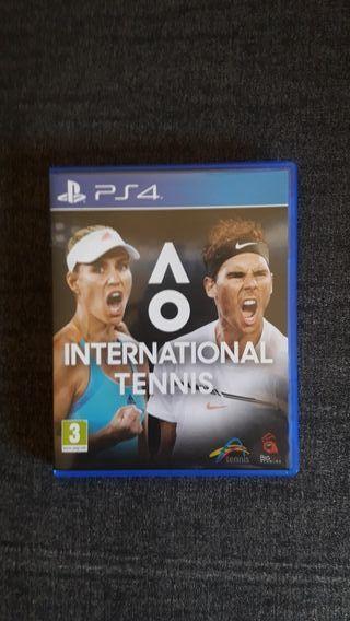 AO INTERNATIONAL TENIS PS4