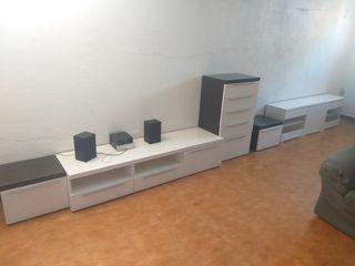 Muebles modulares salón