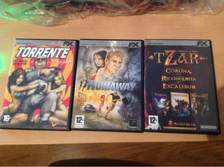 Juegos para PC, Torrente, Runaway y Tzar