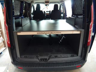 Kit módulo cama Ford Transit custom