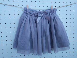 Falda de tul talla 3-4