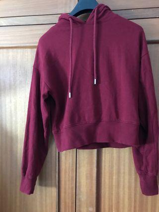 Suéter vino Bershka talla xs