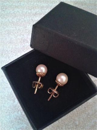 c99bb7b6c0aa Pendientes con perlas cultivadas de segunda mano en la provincia de ...