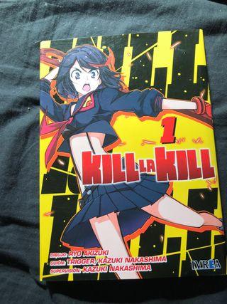 Manga kill la kill primer volumen
