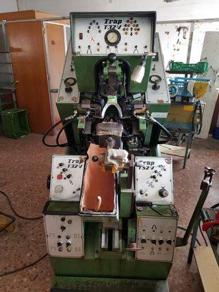 Máquinaria calzado...Máquina centrar puntas