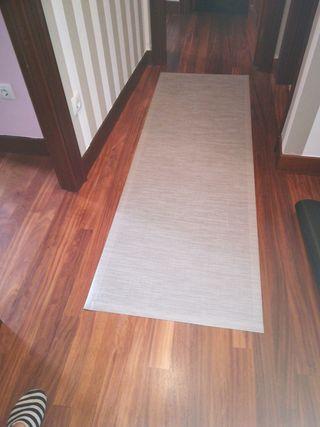 alfombra pasillera vinilo 67*2