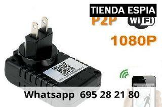 wtk Videocamara ip wifi cargador de enchufe