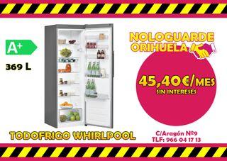 TODOFRIGO WHIRLPOOL A+ -- 45,40€/MES
