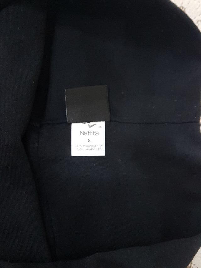 falda pádel negra