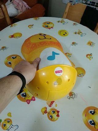 León Fisher Price, balancín con música para niños