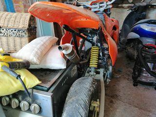 Motor Hispania ryz 50 super motard