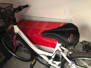 Bicicleta de montaña con velocidades