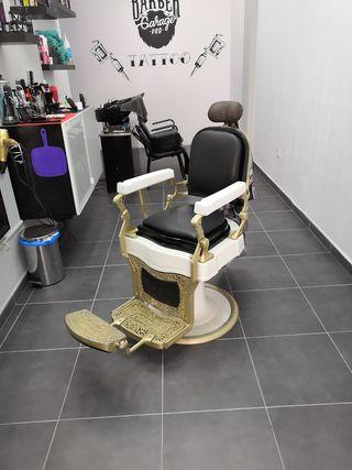 sillón barbero