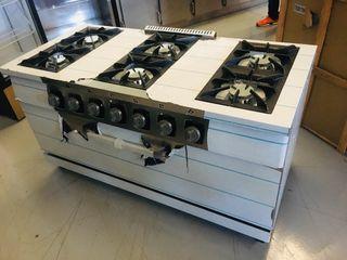 Chollo Cocina a gas 6 fuegos con horno