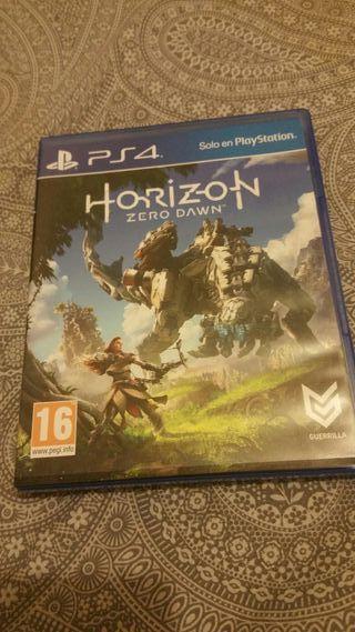 vendo juego horizon: zero dawn de ps4