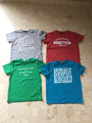 Camiseta benetton