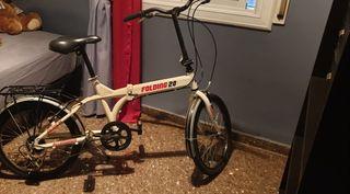 bicicleta plegable folding 20 muy poco uso