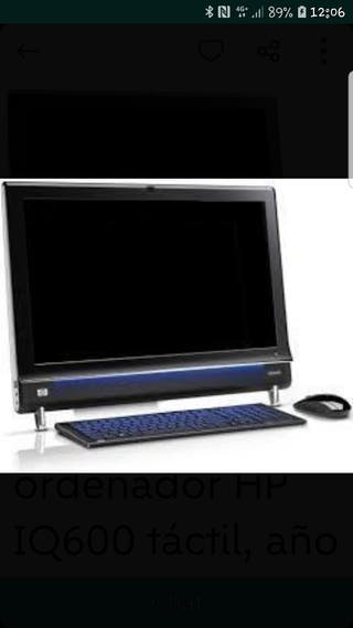 Ordenador HP IQ600 táctil (oferta este mes)