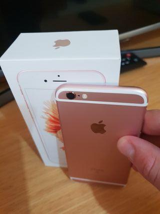 Iphone 6s rosa y oro 32 gb