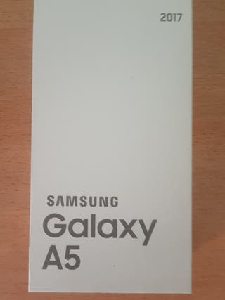 Caja vacía Samsung galaxy A5