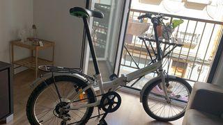 Bicicleta de paseo plegable
