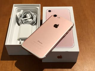 iPhone 7 rosa 32gb impecable