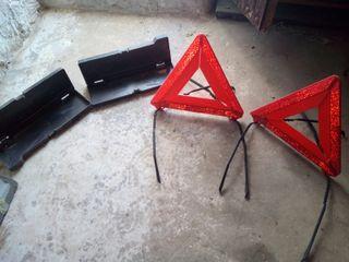 dos triángulos nuevos de avería