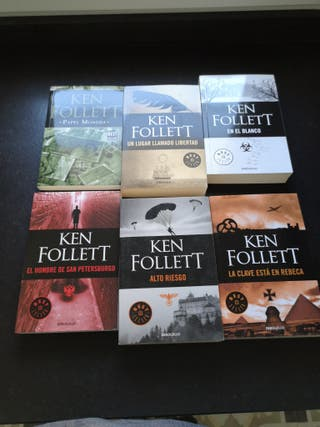 Siete novelas de Ken Follett