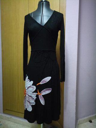 Vestido Desigual manga larga talla S