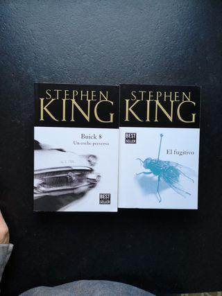 2 novelas de Stephen King