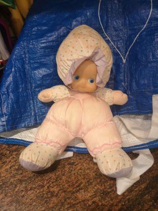 muñeca trapo 30cm