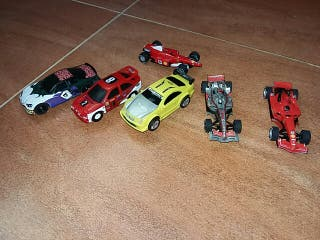 coches scalextric 1:43