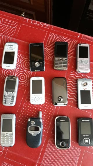 COLECCIÓN TELÉFONOS MÓVILES ANT ANTIGUOS VARIAS