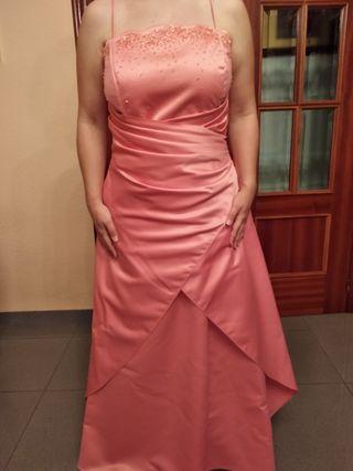 Vestido Madrina Bautizo Tm De Segunda Mano Por 35 En