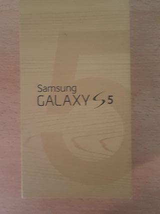 Caja vacía Samsung Galaxy S5