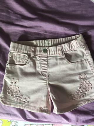 Pantalón niña brotes