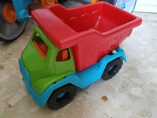 camiones de juguetes por 4 euros