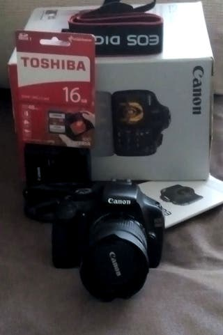 Canon EOS 1100D + EF 35-80mm