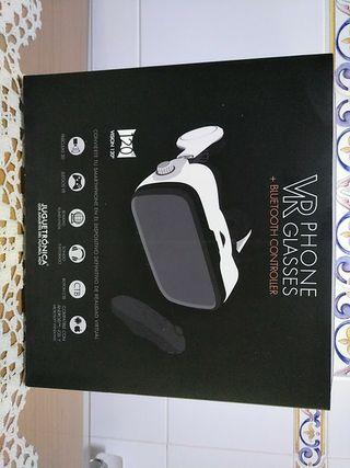 VR Phone Glasses con controlador Bluetooth