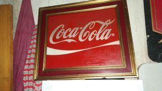 cartel de coca cola antiguo