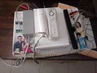 Se vende Wii con 17 juegos y accesorios