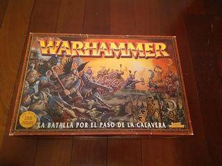 Warhammer.Batalla por el paso de la calavera