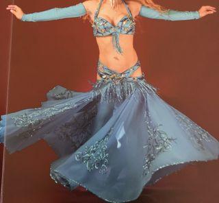 traje danza oriental, danza del vientre