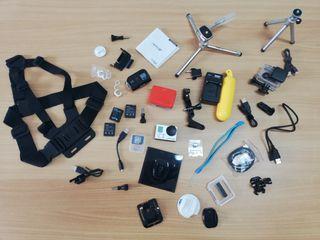 GoPro 3+ Black Edition con muchos extras