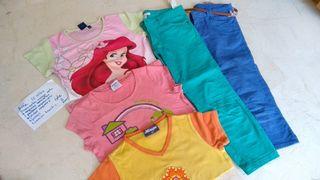 Lote de ropa de ropa verano niña 10 años