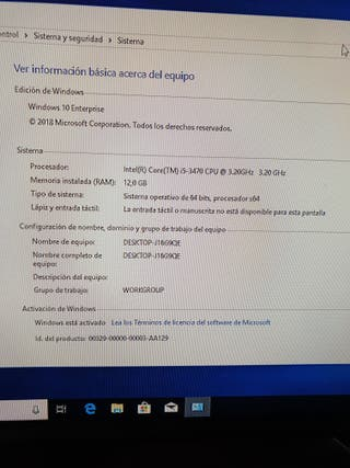 PC I5 12GB 120HDDSOLIDO 250HDD 12G RAM NEGOCIABLE